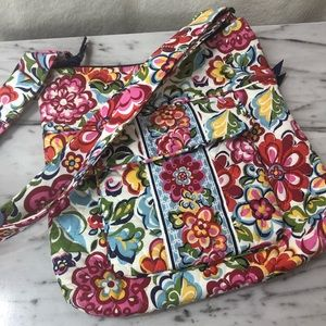 Vera Bradley Quilted Messenger Crossbody Bag